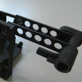 Prototype of a mechanical component made by laser sinteringr